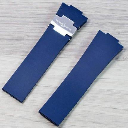 Ремешок Ulysse Nardin AAA Silver-Blue, фото 2