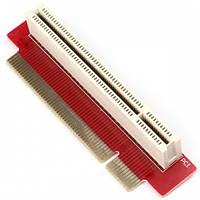 PCI райзер угловой 1U 32 bit левый 90 град. riser удлинитель слота  Незаменим для   Развернут влево, если смот