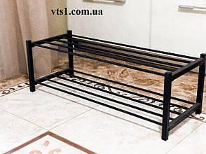Полка металлическая  для обуви J2-80 (подставка металлическая для обуви), фото 2
