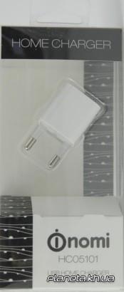 Nomi HC05101 сетевое зарядное устройство 1A 1 USB White