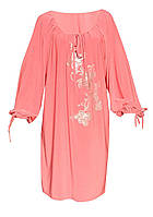 Платье ВЕТКА,длинный рукав,поливискоза,размеры 46-64.