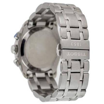 Наручные часы ААА класса Tissot T-Classic Couturier Chronograph Steel Alt Silver-Black, фото 2