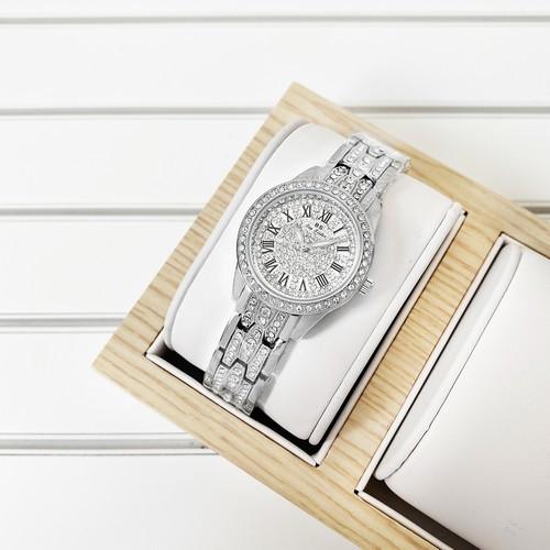 Оригинальные наручные часы Bee Sister 1501 All Silver Diamonds | Оригинал, Гарантия 1 год!