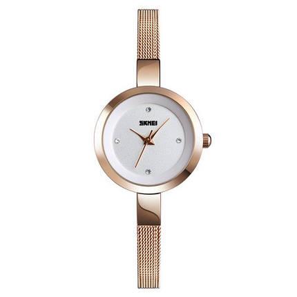 Оригінальні наручні годинники Skmei 1390 Cuprum-White   Оригінал Скмей, фото 2