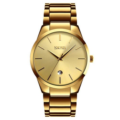 Оригинальные наручные часы Skmei 9140 Gold | Оригинал Скмей, Гарантия 1 год!