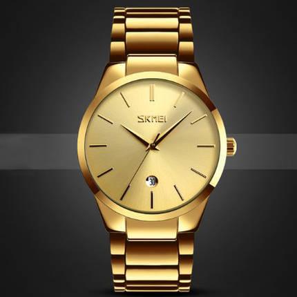 Оригинальные наручные часы Skmei 9140 Gold | Оригинал Скмей, Гарантия 1 год!, фото 2