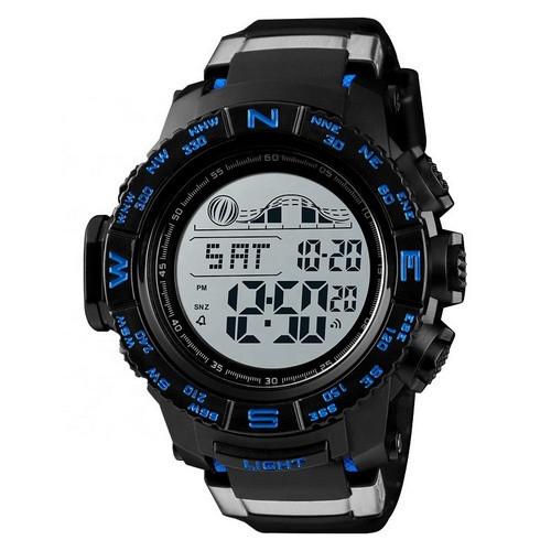 Оригинальные наручные часы Skmei 1380 Black Blue | Оригинал Скмей, Гарантия 1 год!