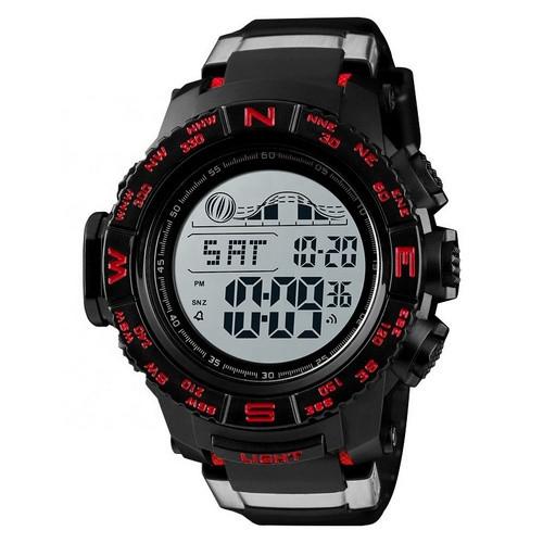 Оригинальные наручные часы Skmei 1380 Black Red | Оригинал Скмей, Гарантия 1 год!