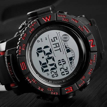 Оригинальные наручные часы Skmei 1380 Black Red | Оригинал Скмей, Гарантия 1 год!, фото 2