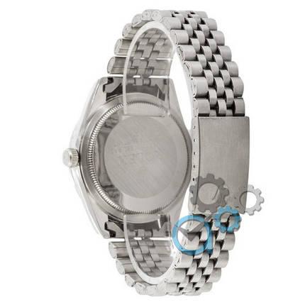 Наручные часы Rolex Date Just Silver-Black, фото 2