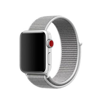 Ремешок xCase для Apple watch 42/44 mm Loop White, фото 2