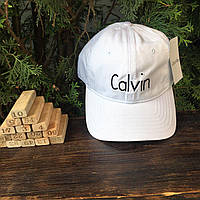 Бейсболка - в стиле Calvin Klein (Белая)