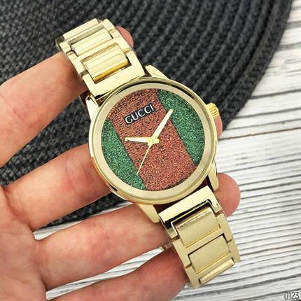 Наручные часы Gucci 6854 Gold, фото 2