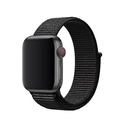 Ремешок xCase для Apple watch 42/44 mm Loop Black, фото 2