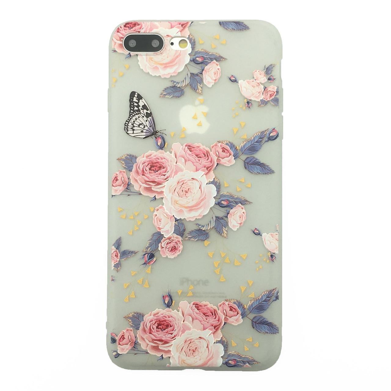 Чехол  накладка xCase для iPhone 7Plus/8Plus Blossoming Flovers №11