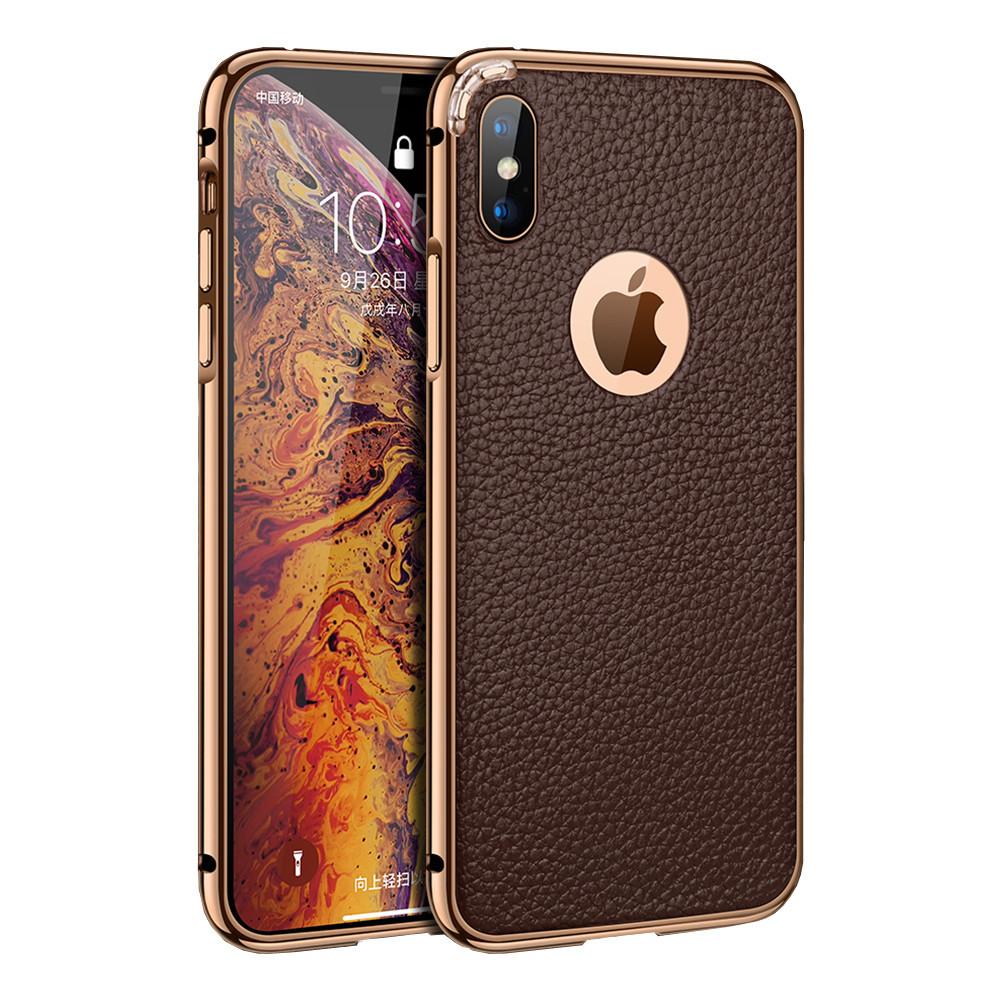 Чехол xCase на iPhone 7 Plus/8 Plus Luxury Case Coffee Color