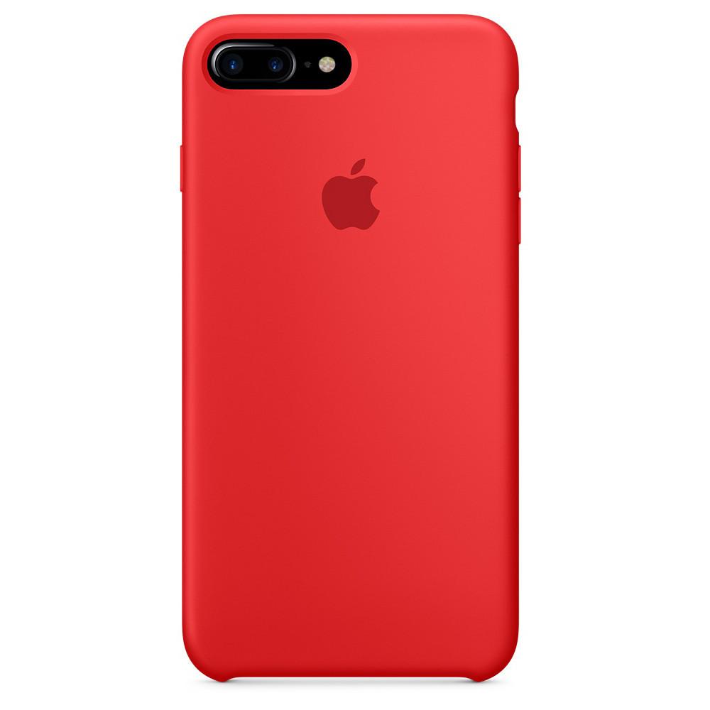 Чехол накладка xCase для iPhone 7 Plus/8 Plus Silicone Case красный(12)