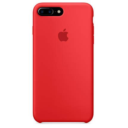 Чехол накладка xCase для iPhone 7 Plus/8 Plus Silicone Case красный(12), фото 2