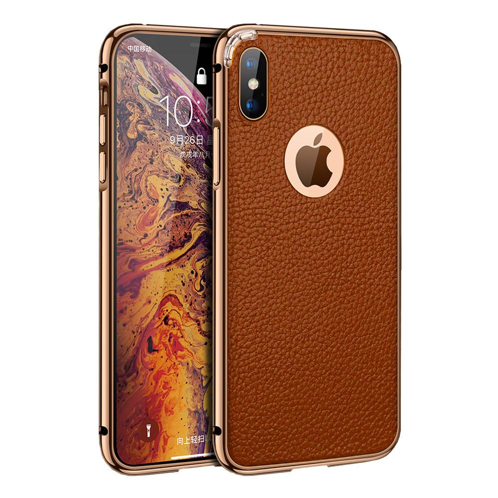 Чехол xCase на iPhone 7 Plus/8 Plus Luxury Case Athens Brown