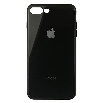 Чехол для iPhone 7 Plus/8 Plus Glass Case Logo black, фото 2