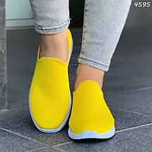 Ярко желтые кроссовки, фото 2