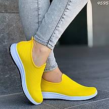 Ярко желтые кроссовки, фото 3