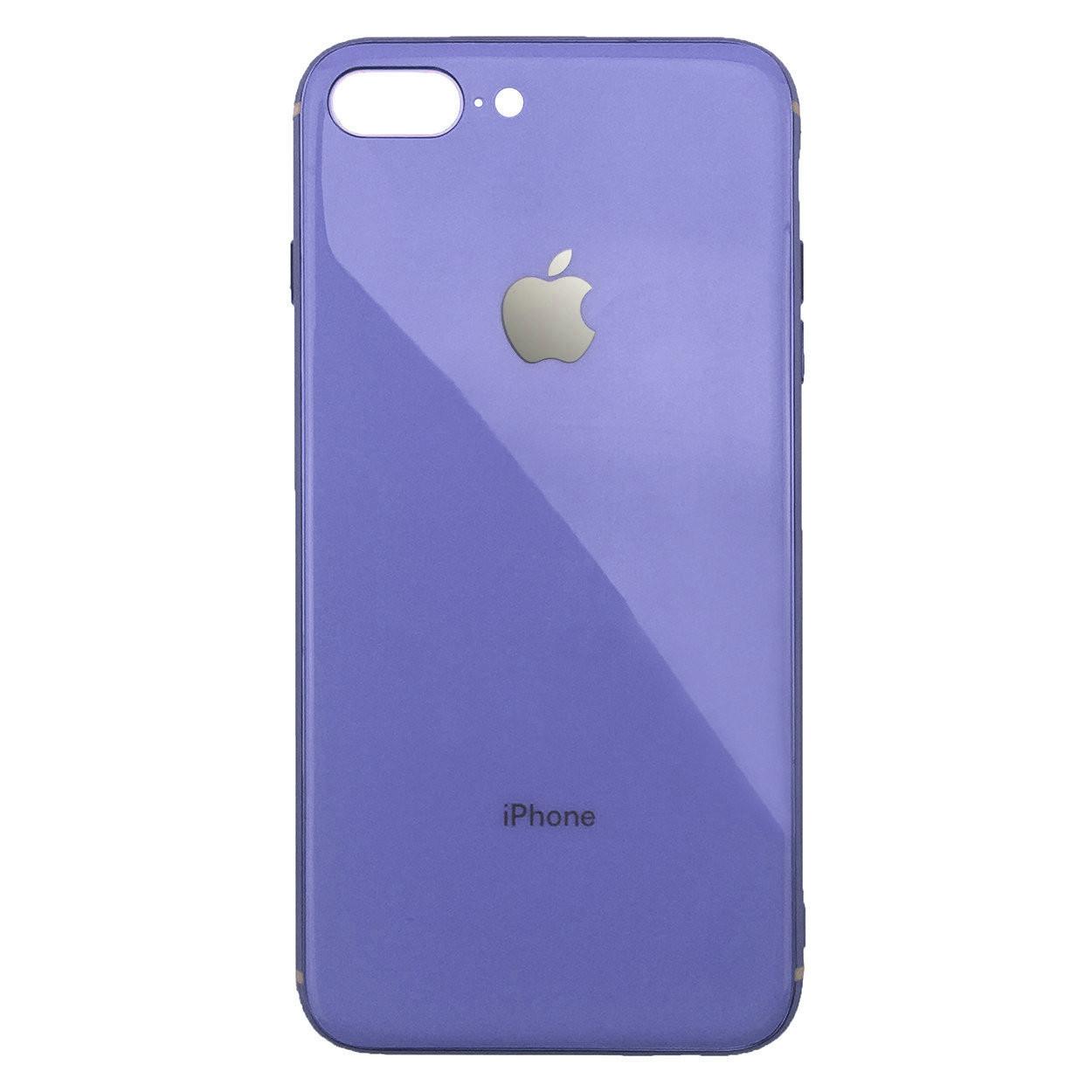 Чехол для iPhone 7 Plus/8 Plus Glass Silicone Case Logo glycine
