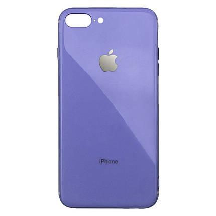 Чехол для iPhone 7 Plus/8 Plus Glass Silicone Case Logo glycine, фото 2