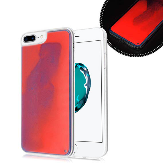 Чехол  накладка xCase для iPhone 7 Plus/8 Plus Neon Case red