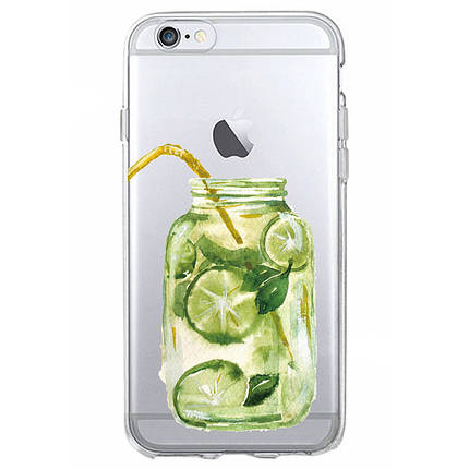 Чехол для iPhone 7 Plus/8 Plus мохито с лаймом, фото 2