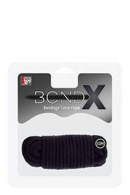 Веревка для бондажа BONDX LOVE ROPE - 10M, BLACK