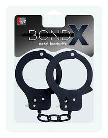 Наручники BONDX METAL CUFFS, BLACK