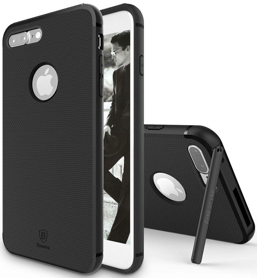 Чехол накладка Baseus для iPhone 7 Plus/8 Plus Hermit Bracket Case black