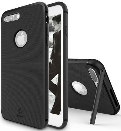 Чехол накладка Baseus для iPhone 7 Plus/8 Plus Hermit Bracket Case black, фото 2