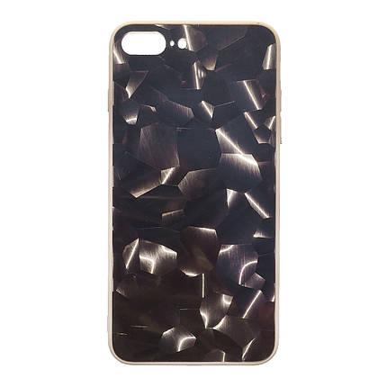Чехол накладка xCase для iPhone 7 Plus/8 Plus Mystic Case gold, фото 2
