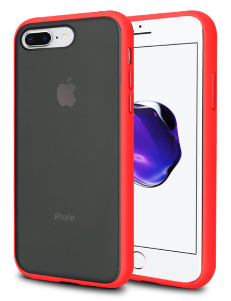 Чехол накладка xCase для iPhone 7 Plus/8 Plus Gingle series red