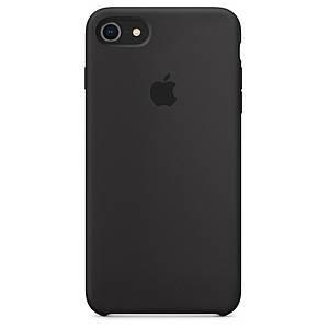 Чехол для iPhone 7/8 Silicone Case темно-коричневый