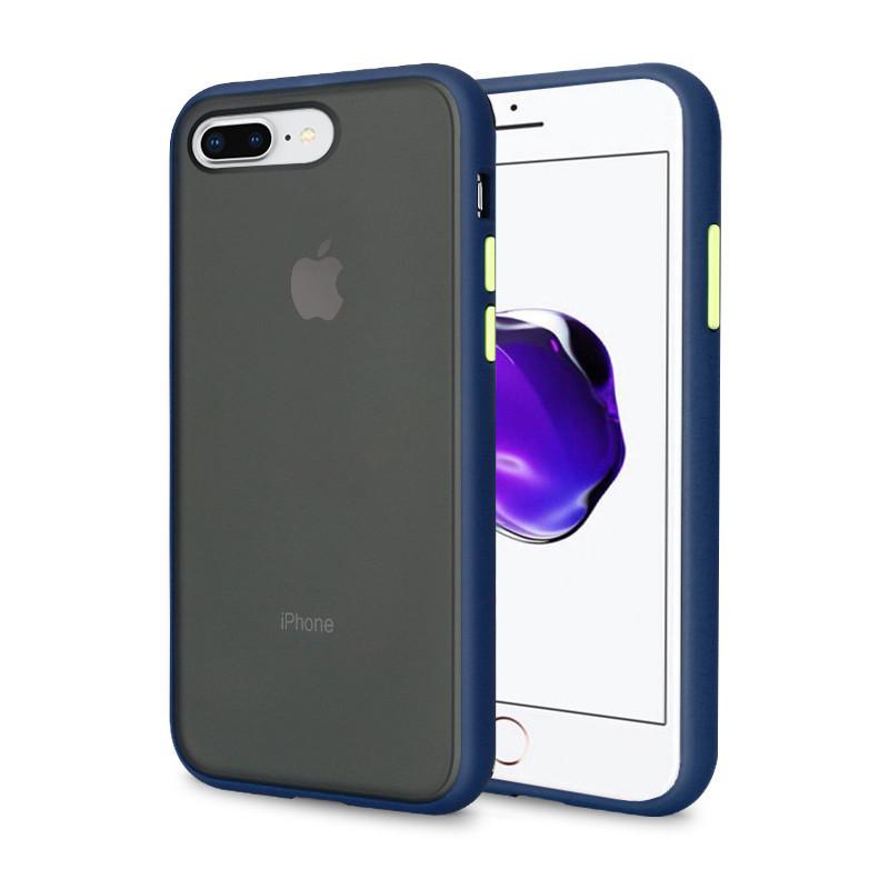 Чехол накладка xCase для iPhone 7 Plus/8 Plus Gingle series blue green