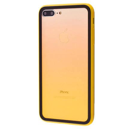 Чехол накладка xCase для iPhone 7 Plus/8 Plus Colorful Gradient case yellow, фото 2