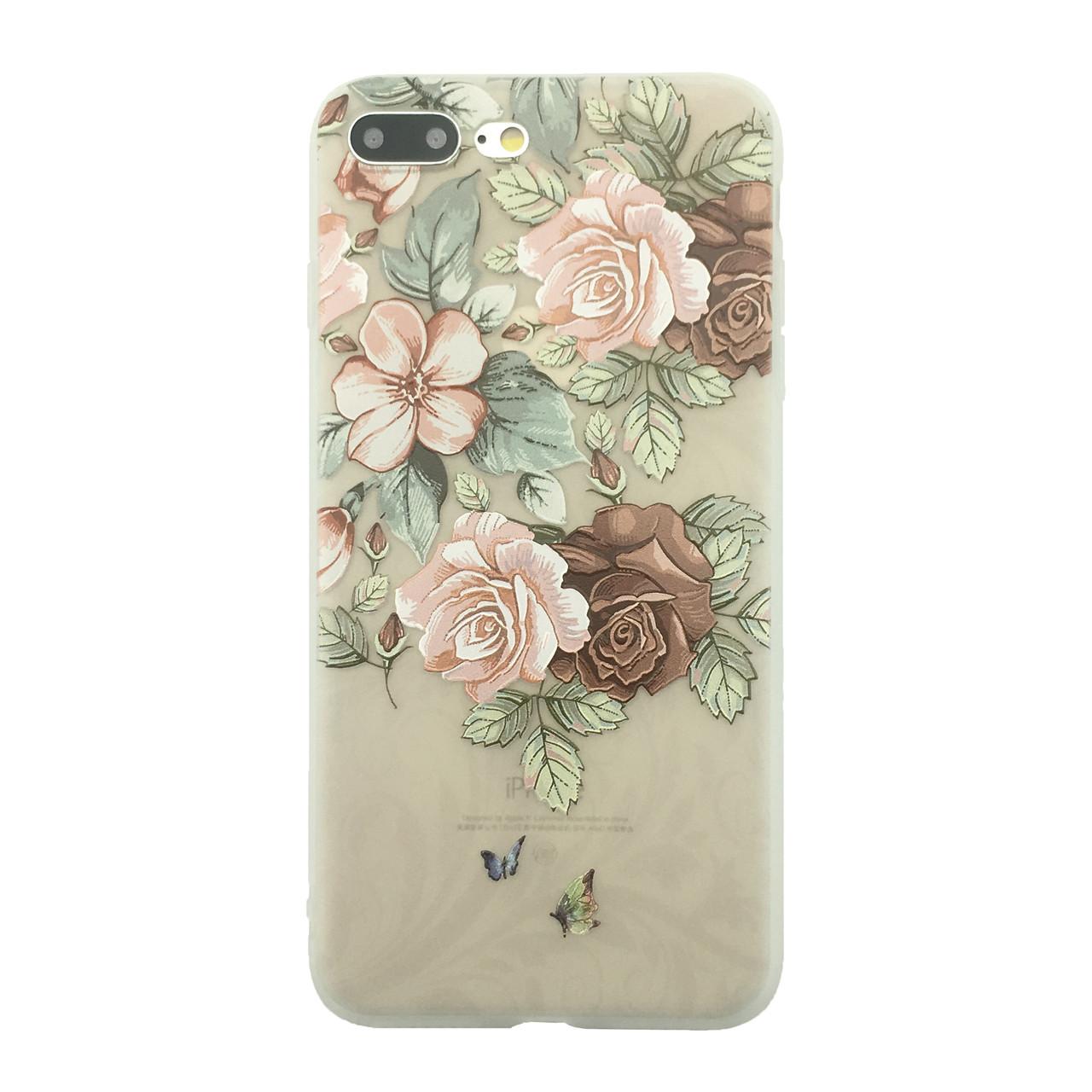 Чехол  накладка xCase для iPhone 7Plus/8Plus Blossoming Flovers №6
