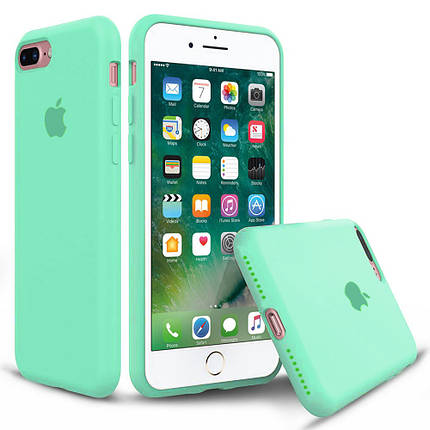 Чехол накладка xCase для iPhone 7 Plus/8 Plus Silicone Case Full spearmint, фото 2