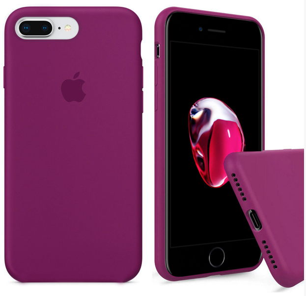 Чехол накладка xCase для iPhone 7 Plus/8 Plus Silicone Case Full dragon fruit