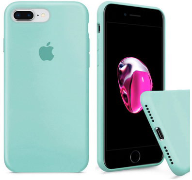 Чехол накладка xCase для iPhone 7 Plus/8 Plus Silicone Case Full мятный, фото 2