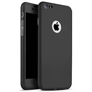 Чехол для iPhone Х Full Cover 360 Logo черный