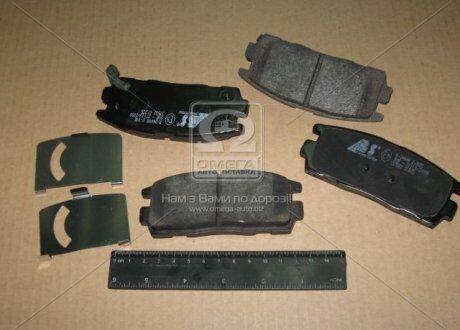 Колодка тормозная диска CHEVROLET/OPEL CAPTIVA/ANTARA задний | ABS, фото 2