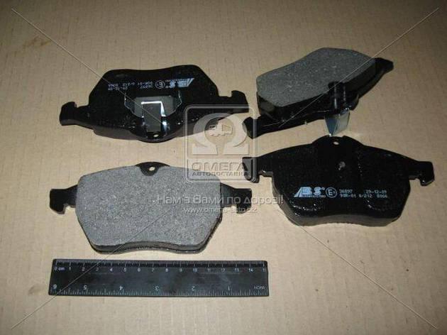 Колодка тормозная диска OPEL/SAAB VECTRA B/900 передняя | ABS, фото 2