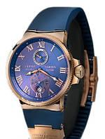 Часы Ulysse Nardin (механика) чёрные, синие