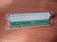 PCI райзер угловой 1U 32 bit правый 90 град. riser удлинитель слота