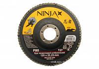 Пелюстковий круг NINJA 125x22 P80
