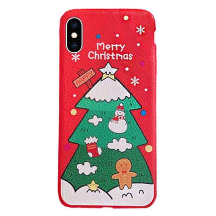 Чехол накладка xCase на iPhone XR Christmas Holidays №3, фото 2